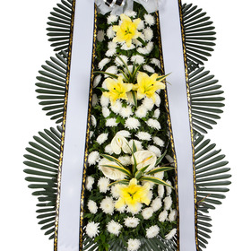장례식 화환 기본형